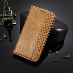 Bao da dạng ví, nam châm dành cho BlackBerry Key 2 Luxury Leather Case - Hàng nhập khẩu