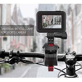 Sports Camera Bicycle Clamp Universal Adjustable Clips for GoPro 8 Osmo Action Osmo Pocket