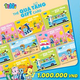 Thẻ quà tặng tiNi 1.000.000VND - GC1000
