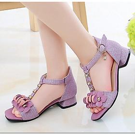 Dép sandal cho bé gái công chúa dành cho bé từ 3 -13 tuổi - D51T