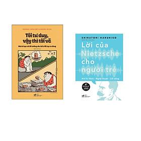 Combo 2 cuốn sách: Tôi tư duy vậy thì tôi vẽ  + Lời của Nietzsche cho người trẻ T2 - Tri thức - nghệ thuật - lối sống