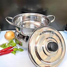 COMBO Bộ NỒI LẨU + BẾP CỒN Size24 - Bộ Nồi Lẩu Bếp INOX sử dụng cồn. Dụng cụ bộ NỒI LẨU BẾP CỒN dùng chuyên nghiệp cho QUÁN ĂN NHÀ HÀNG