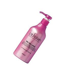 Sữa dưỡng tóc siêu mượt Obsidian Silk Hair Lotion 400ml