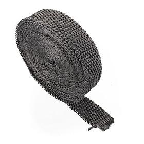 Hình đại diện sản phẩm Downpipe Heat Wrap Stable 2.5 Cm X 4.5m Black Motors Headers