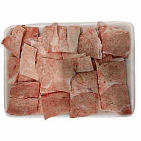 Nầm heo (vú heo) cắt lát nướng - khay 300GR
