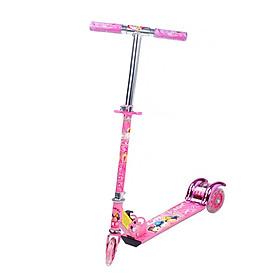 Xe trượt scooter ba bánh phát sáng màu Hồng