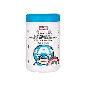 Hộp khăn ướt Miniso Marvel - Hàng chính hãng
