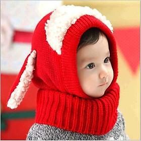 Mũ len tai cừu cho bé ML01