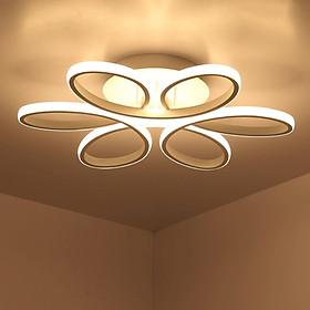 Đèn trần phòng khách GS008 3 màu ánh sáng -  Đèn led mâm