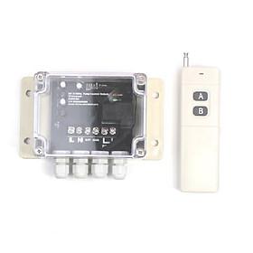 Bộ điều khiển bơm nước 2HP remote tầm xa 300 mét S688