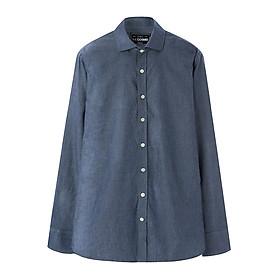 Áo Sơ Mi Nam Tay Dài THE COSMO Slimfit Shirt - Dark Blue
