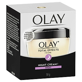 Olay Total Effects 7 in One Night Face Cream Moisturiser 50g