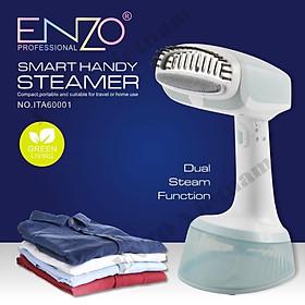 Máy là cầm tay ENZO, Bàn ủi hơi nước, máy hấp quần áo không dây chuyên nghiệp (Portable garment steamer for clothes)