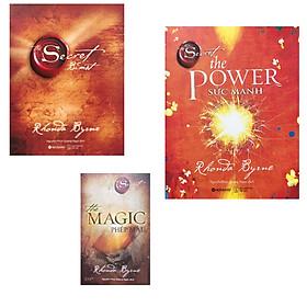 Combo Secret Bí Mật ( tái bản 2021) + The power Sức mạnh + The magic- phép màu