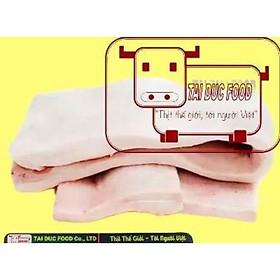 Mỡ lưng heo NK-Pork back fat