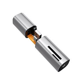 Đầu đọc thẻ nhớ đa năng cổng giao tiếp USB và Type C Baseus Mini Cabin Card Reader - Hàng chính hãng