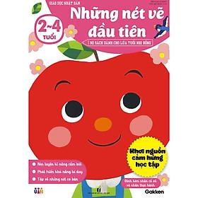 Những nét vẽ đầu tiên 2~4 tuổi - Giáo dục Nhật Bản - Bộ sách dành cho lứa tuổi nhi đồng