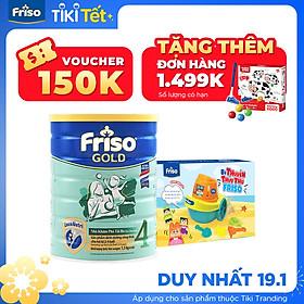 Sữa Bột Friso Gold 4 Cho Trẻ Từ 2-4 Tuổi 1.5kg + Tặng bộ lắp ráp (Quà ngẫu nhiên)