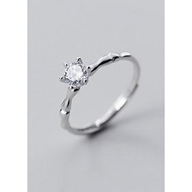 Nhẫn Bạc | Nhẫn Bạc Nữ S925 Đính Đá Thời Trang N2499 - Bảo Ngọc Jewelry