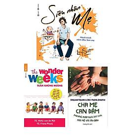 Bộ 2 cuốn sách dùng cho những ngày đầu nuôi con: Tuần Khủng Hoảng - Siêu Nhân Mẹ - Cha Mẹ Can Đảm