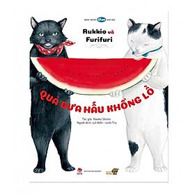 Truyện tranh Ehon - Rukkio và Furifufi: Quả dưa hấu khổng lồ