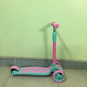 Xe trượt scooter cho bé - màu xanh hồng