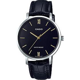 Đồng hồ Casio nữ dây da LTP-VT01L-1BUDF (34mm)