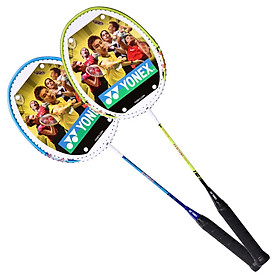 YONEX Yonex badminton yy badminton racket MP7 men and women beginners getting started smashing single shot has been threaded