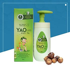 Gel tắm gội thảo dược cho bé Yaocare baby plus 250ml - DK Pharma