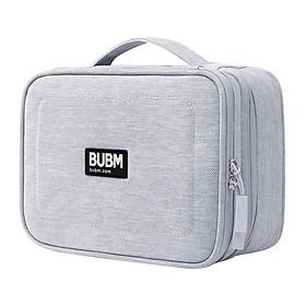 Túi cầm tay đa năng BUBM DPSS-PVC-hui dung lượng lớn đựng phụ kiện kỹ thuật số/máy tính bảng/điện thoại/USB