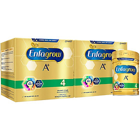 Combo 2 Hộp Sữa Bột Enfagrow A+ 4 (2.2kg) - Tặng Lon Sữa Bột Enfagrow A+ 4 (870g)
