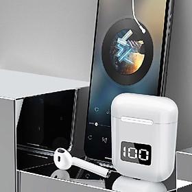 Tai Nghe Bluetooth 5.0 AMOI V15-F95 LED - (Tai Nghe Không Dây) Chống Nước - Chống ồn - Tích Hợp Micro - Tự Động Kết Nối - Nhỏ gọn - Âm Thanh Vòm 8.0  - Tương Thích Cao Cho Tất Cả Điện Thoại - Hàng Chính Hãng