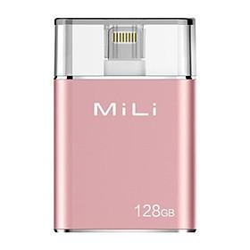 Ổ Cứng Di Động Mili IDATA 128GB USB 3.0 (Hồng) - Hàng Chính Hãng