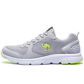Camel (CAMEL) sneakers men and women couples casual breathable running shoes jogging shoes A712357085-318 men's gray 43