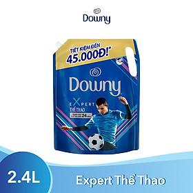 Nước Xả Vải Downy Expert Thể Thao 2.4L (dạng túi)