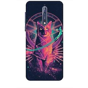 Ốp lưng dành cho điện thoại NOKIA 8 Mèo Phép Thuật