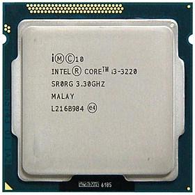 Bộ vi xử lý core I3 3220- Tray- hàng nhập khẩu - Tương thích cho mainboar H61, B75