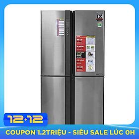 Tủ Lạnh Inverter Sharp SJ-FX680V-ST (605L)-Hàng Chính Hãng