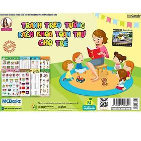 Sách - Tranh Treo Tường Bách Khoa Toàn Thư Cho Bé song ngữ Anh Việt – Kỹ năng dành cho bé