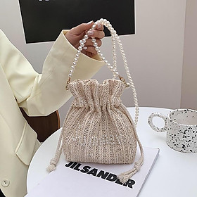 Túi Đeo Chéo nữ Siêu cute Túi dây đeo Sang Trọng, Túi Xách Dây Đan Mỹ Thuật Thân Thiện Với Môi Trường- #N.U