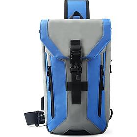 Túi đeo chéo thể thao thời trang đa chức năng ozuko chống thấm hỗ trợ cổng cắm USB