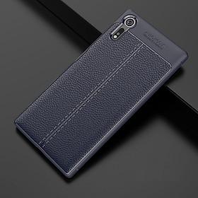 Ốp lưng silicon giả da, chống sốc chính hãng Auto Focus dành cho Sony Xperia XA1 Plus