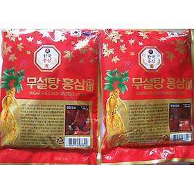 Kẹo hồng sâm không đường Hàn Quốc Korea Ginseng 2 gói 500g-PP