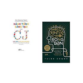 Combo 2 cuốn sách: Hành trình sáng tạo của CJ + Khám phá nhà kinh tế học trong bạn - Áp dụng các nguyên lý kinh tế vào cuộc sống thường nhật