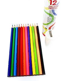ống chì màu cao cấp/ bộ chì 12/ 24 màu an toàn cho bé
