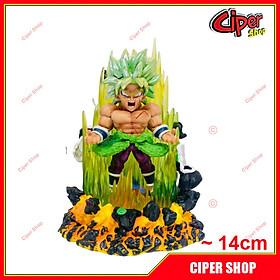 Mô hình Broly Super Saiyan - Led 14cm - Figure Broly Super Saiyan Dragon Ball