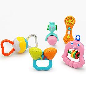 Bộ 5 đồ chơi lúc lắc cho trẻ