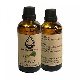 Hình đại diện sản phẩm Combo 2 chai tinh dầu sả Java chuyên đuỗi muỗi và khử mùi Ngọc Tuyết 100mlx2
