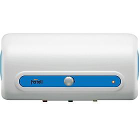 Bình nước nóng Ferroli AE15L, thanh đốt chống cặn, chống giật 2500W - Hàng chính hãng