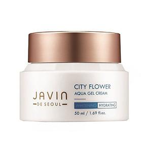 Kem dưỡng ẩm, trắng da ban đêm_Javin de Seoul City Flower Aqua Gel Cream
